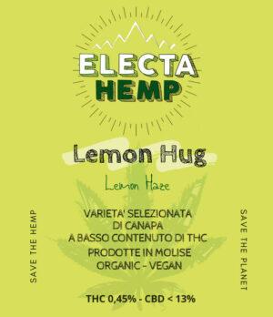 lemon hug cbd canapa light cannabis