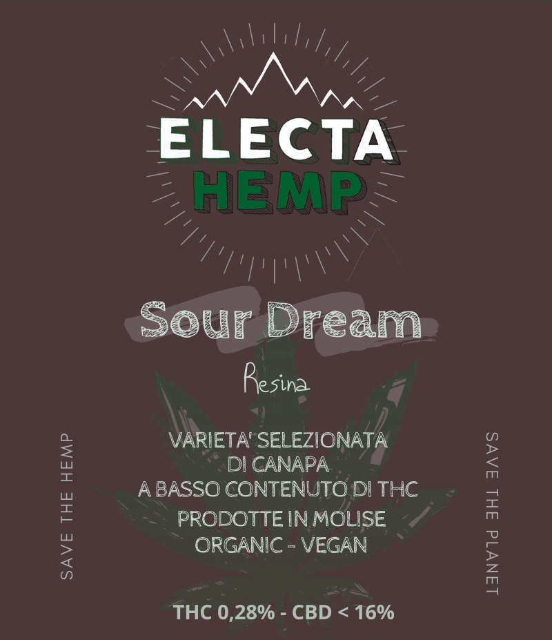 sour dream cbd canapa light cannabis